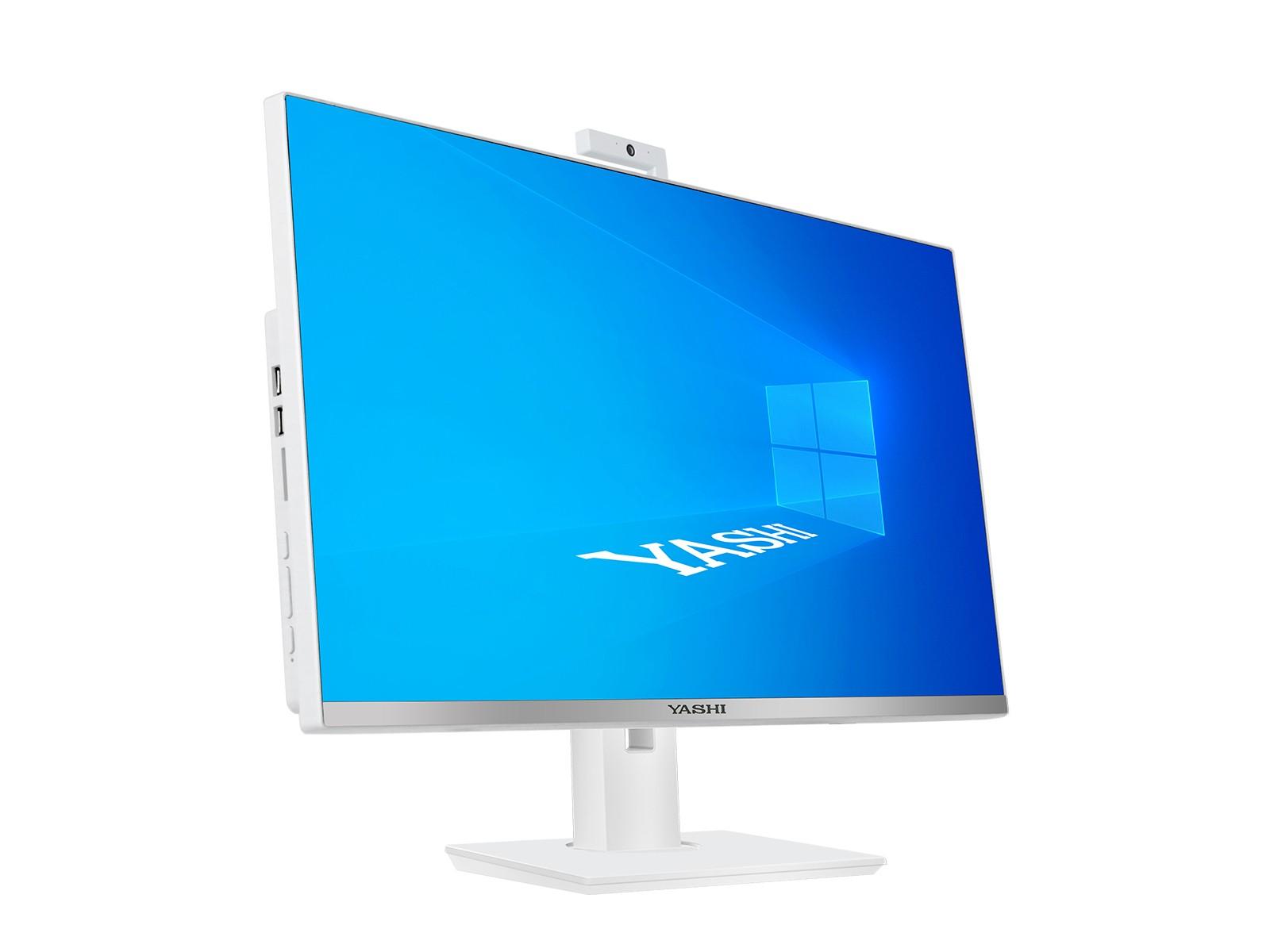 YASHI PC AIO QUANTUM S  I3 8100 8GB 240GB SSD 24 WIN 10 PRO ENT.