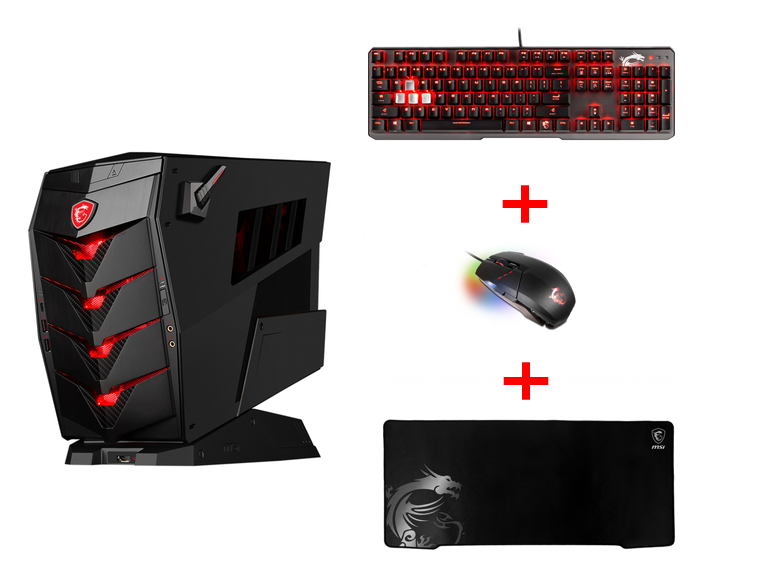 MSI BUNDLE PC GAMING AEGIS 3 8RC-036EU + GK60 CR + GM60 + GD70