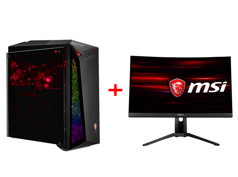 MSI BUNDLE INFINITE 8RC-461 9S6-B91541-461 + MONITOR OPTIX MAG241CR