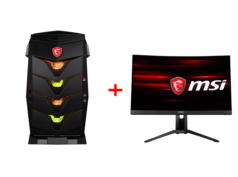 MSI BUNDLE AEGIS 3 8RC-014 9S6-B91811-014 + MONITOR OPTIX MAG241CR