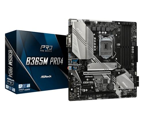 ASROCK MB B365M PRO4 4 DDR4 2PCI-E X16 M2 DVI/HDMI MATX