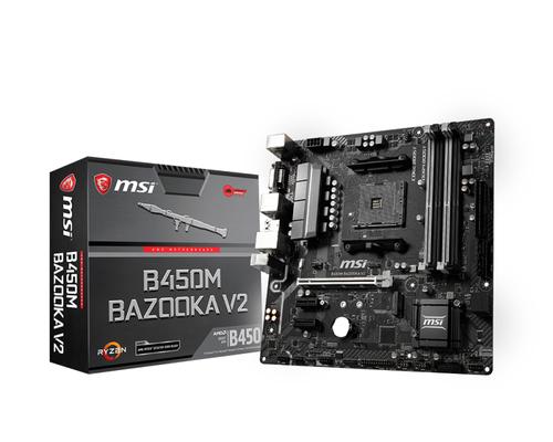 MSI MB AMD B450M BAZOOKA V2
