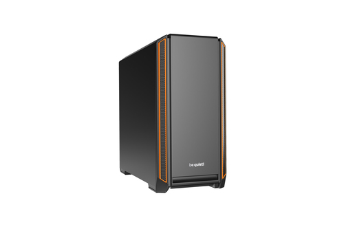 BE QUIET! CASE ATX-EATX SILENT BASE 601, 7+2 HDD SLOT, 1XUSB2.0, 2XUSB3.0, 1XAUDIO I/O, ORANGE