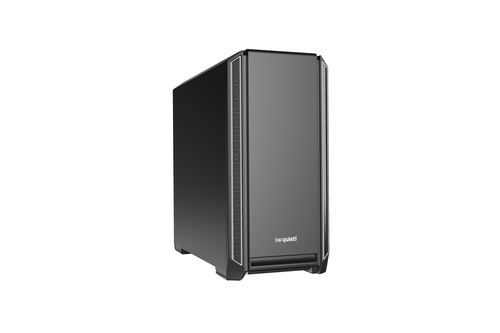 BE QUIET! CASE ATX-EATX SILENT BASE 601, 7+2 HDD SLOT, 1XUSB2.0, 2XUSB3.0, 1XAUDIO I/O, SILVER