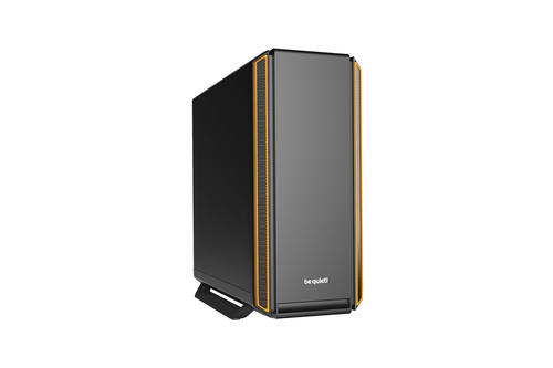 BE QUIET! CASE ATX-EATX SILENT BASE 801, 7+2 HDD SLOT, 1XUSB2.0, 2XUSB3.0, 1XAUDIO I/O, ORANGE