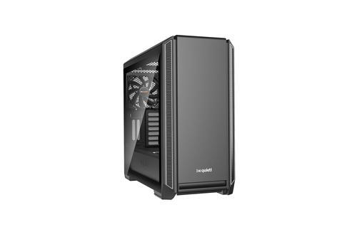 BE QUIET! CASE ATX-EATX SILENT BASE 601 WINDOW, 7+2 HDD SLOT, 1XUSB2.0, 2XUSB3.0, 1XAUDIO I/O, SILVER