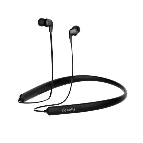 CELLY CUFFIE/AURICOLARI WIRELESS NERO BLUETOOTH 10 M