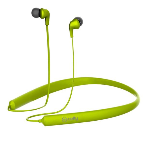 CELLY BLUETOOTH NECK BAND GREEN