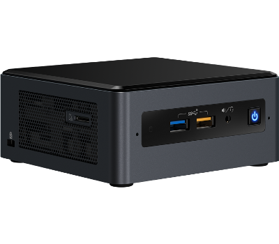 INTEL MINI PC I7-8559U/EU BAREBONE NO RAM HDD SSD  OS