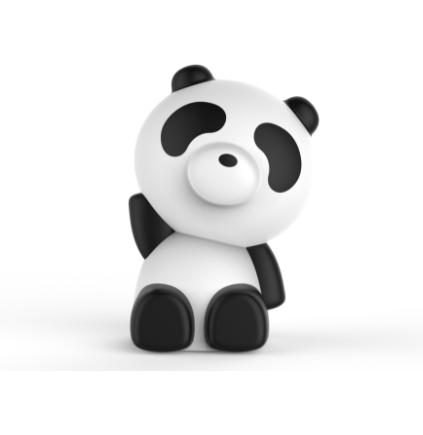 BIG BEN LUMINUS PANDA SPEAKER BLUETOOTH RGB INGRESSI USB/AUX 23CM