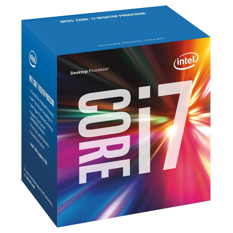 INTEL CPU KABYLAKE I7-7700 4 CORE 3,60GHZ SOCKET LGA1151 8MB CACHE BOX
