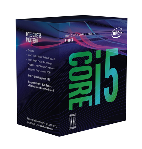 INTEL CPU COFFEE LAKE I5-8500 3.00GHZ SOCKET LGA1151 9MB CACHE BOXED