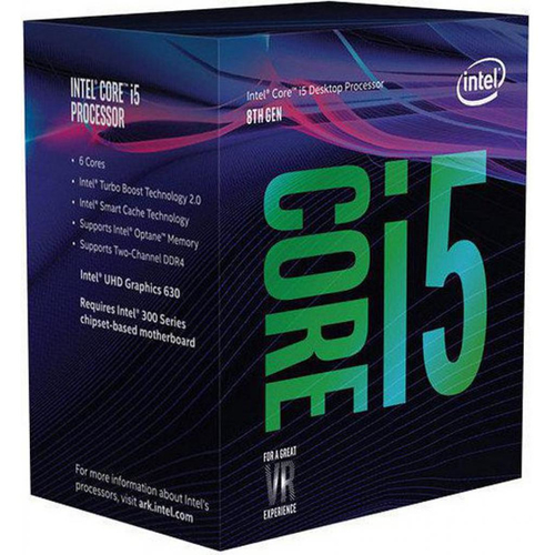 INTEL CPU COFFEE LAKE I5-8600K 6 CORE 3.60GHZ SOCKET LGA1151 9MB CACHE BOXED SENZA DISSIPATORE