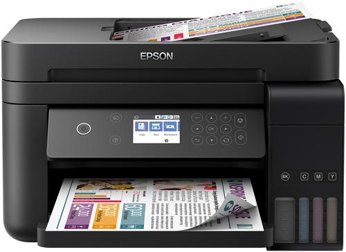 EPSON MULTIF. INK ECOTANK ET-3750 COLORE A4 FRONTE RETRO 8PPM WIFI STAMPANTE SCANNER FOTOCOPIATRICE