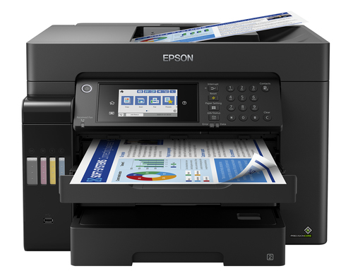 EPSON MULTIF. INK ECOTANK ET-16650 COLORE A3 FRONTE/RETRO 25PPM 4IN1 USB/LAN/WIFI