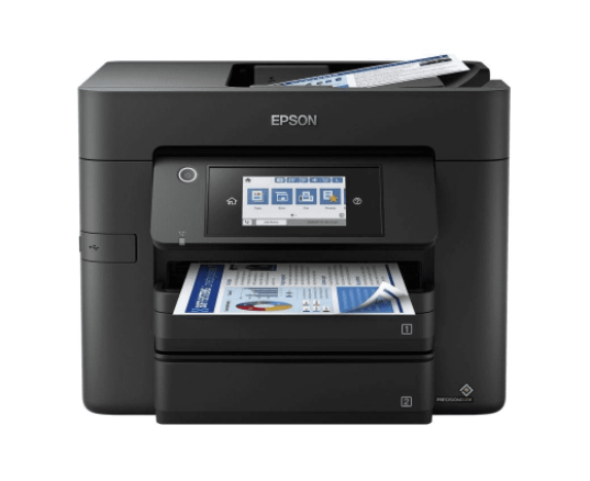 EPSON MULTIF. INK WF-4830DTWF A4 COLORI 12PPM 4800X2400DPI FRONTE/RETRO USB/LAN/WIFI/ETHERNET - 4 IN 1