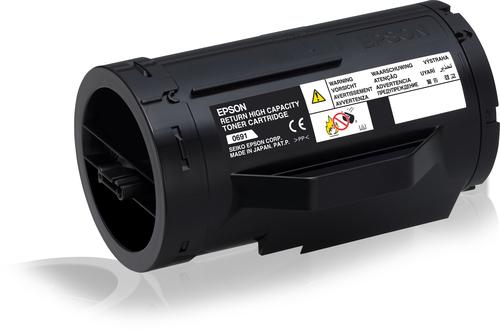 EPSON TONER NERO PER M300D/DN/DT/DTN ALTA CAPACITA RETURN P