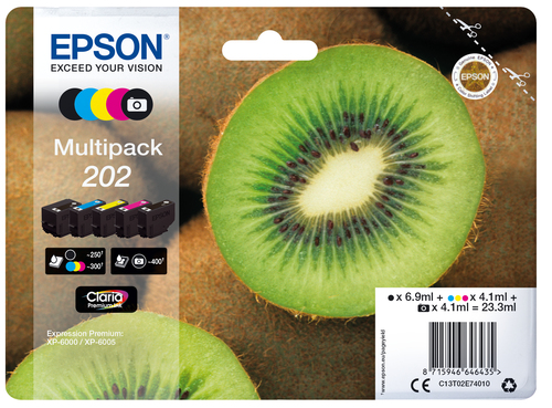 EPSON CART. INK MULTIPACK (BK, BK PHOTO, C, M, Y) PER XP-6005