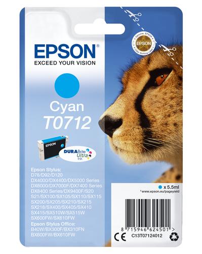 SINOTEX CART E0712_SIN CIANO STYLUS DX4000/4050/D92/D120/SX1-2-4/ST.OFF