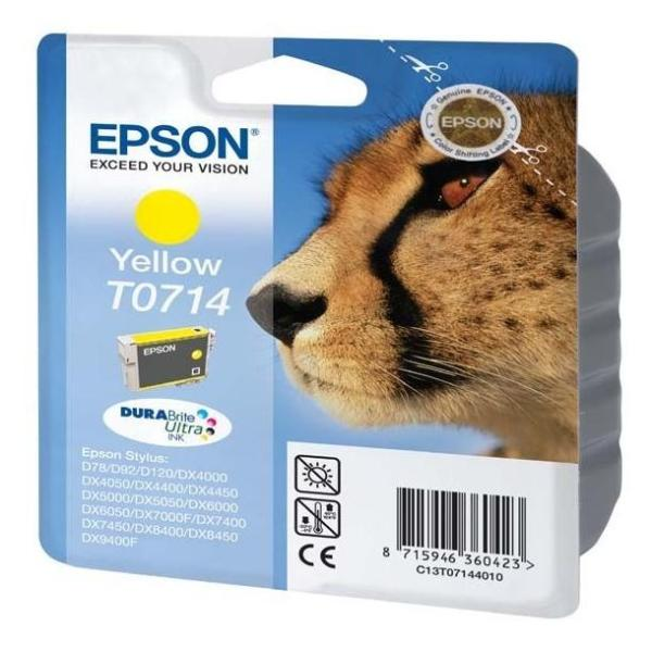EPSON CART GIALLO STYLUS D78/DX4000/4050/5000/6000/6050