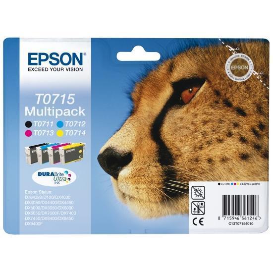 EPSON CART MULTIPACK STYLUS D78/DX4000/5000/6000