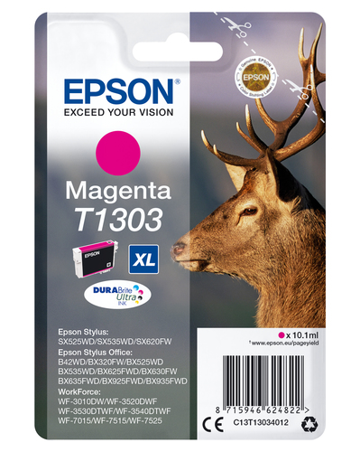 EPSON CART INK MAGENTA PER SO B42WD/WF PRO 7015 TAGLIA XL