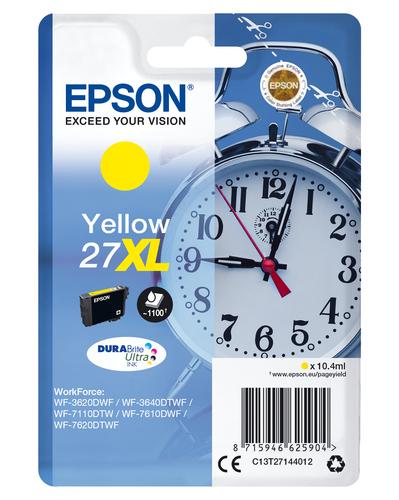 EPSON CART. INK GIALLO 27XL SERIE SVEGLIA PER WF-7620