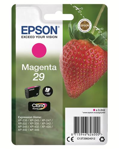 EPSON CART. INK MAGENTA SERIE FRAGOLA