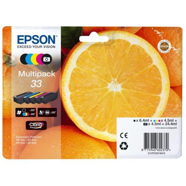EPSON MULTIPACK CART. INK XL SERIE ARANCE (BK-C-M-Y) PER XP-630 XP-830 XP-635
