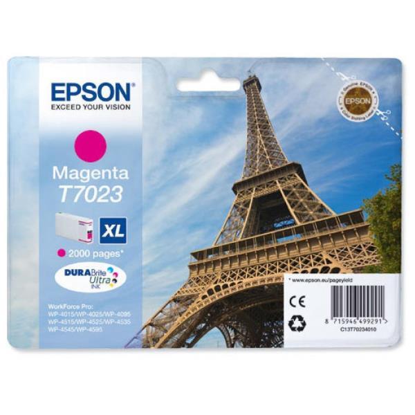 EPSON CART.INK MAGENTA XL PER WF PRO 4015DN/4025DW/4515DN/4525DNF/4535DWF/4545DTWF