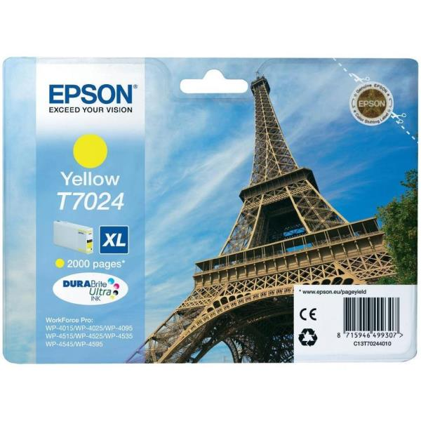 EPSON CART.INK GIALLO XL PER WF PRO 4015DN/4025DW/4515DN/4525DNF/4535DWF/4545DTWF
