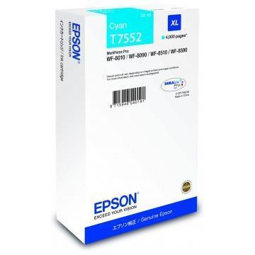 EPSON CART. INK CIANO XL 4.000PAG PER WF-PRO 8090/8590