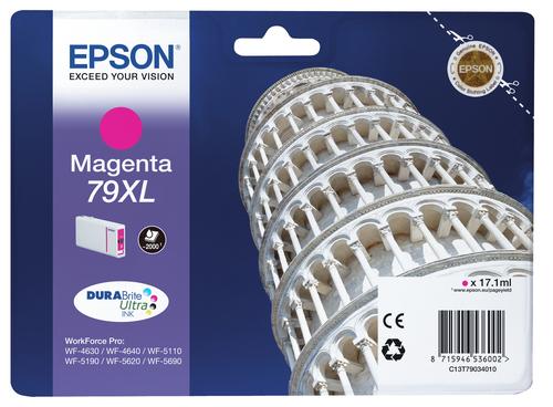 EPSON CART INK MAGENTA XL PER WF-5620 SERIE TORRE DI PISA