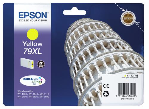 EPSON CART INK GIALLO XL PER WF-5620 SERIE TORRE DI PISA