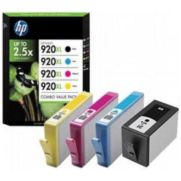 HP CART INK NERO + COLORE 920XL PER OFFICEJET 6000/6500/7000/7500