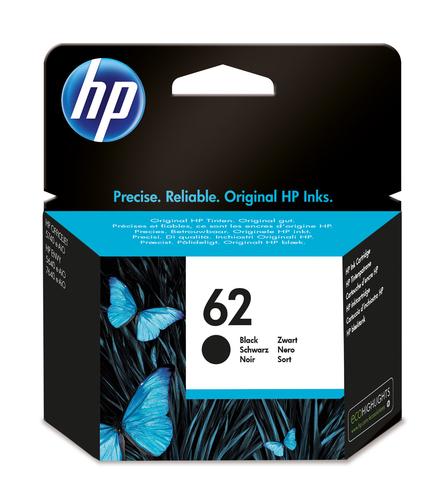 HP CART. INK NERO N.62 PER OJ 5640