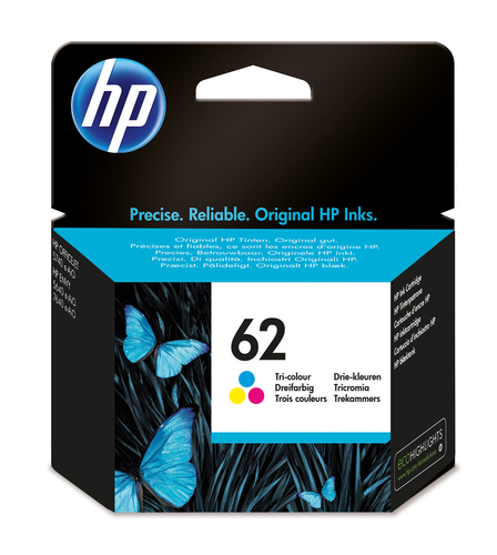 HP CART. INK COLORE (CIANO + MAGENTA + GIALLO) N.62 PER OJ5640