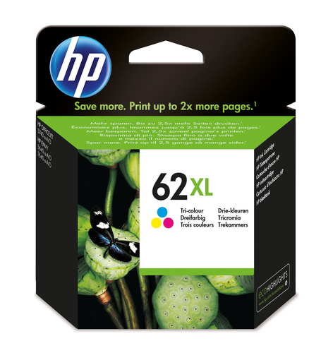 HP CART. INK MULTICOLOR 62XL (CIANO MAGENTA GIALLO) 415PAG
