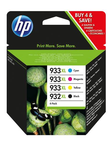 HP CART. INK MULTICOLOR (BK +C + M + Y) N.933