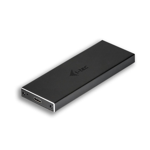 I-TEC BOX ESTERNO 2,5 SSD M2 SATA USB-C METAL BLACK