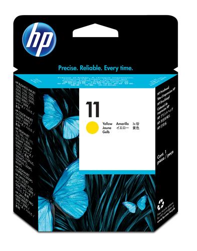 HP TESTINA GIALLO NUM. 11 DESIGNJET 500/800