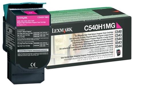 LEXMARK TONER MAGENTA ALTA RESA RET.PROG C54X X54X 2K PAG