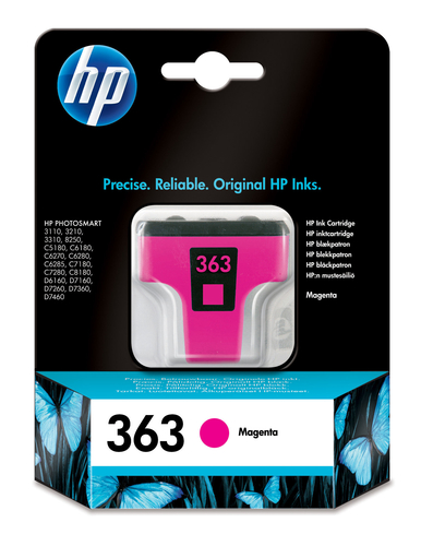 HP CART. MAGENTA LARGE NUM.363 3210/3310/8250