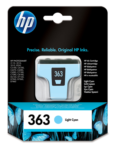 HP CART. CIANO CHIAROLARGE NUM.363 3210/3310/8250