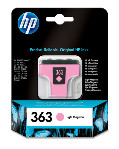 HP CART. MAGENTA CHIARO LARGE NUM.363 3210/3310/8250
