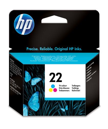 HP CART. COLORE 3940/D2360/2460  NUM.22