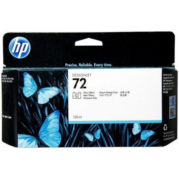 HP CART INK FOTO.72 NERO VIVERA 130 ML PER PLOTTER 1100/T610