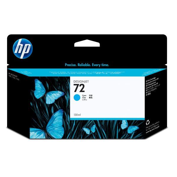 HP CART INK 72 CIANO VIVERA 130 ML PER PLOTTER 1100/T610