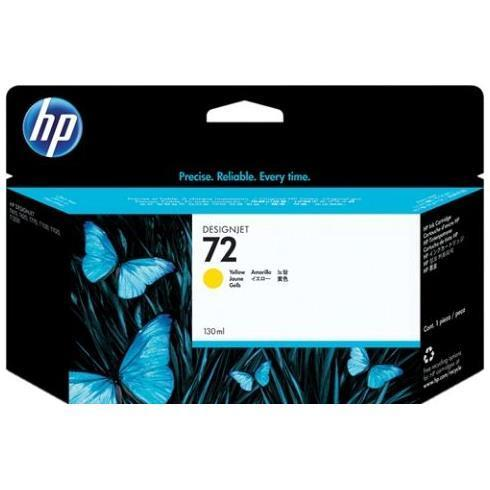 HP CART INK 72 GIALLO VIVERA 130 ML PER PLOTTER 1100/T610