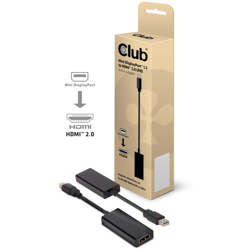CLUB3D ADATTATORE MINI DISPLAYPORT 1.2 HDMI 2.0